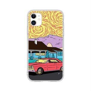 Red Car Scene iPhone 11 Pro Max Case 🚗